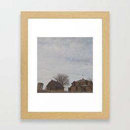 Abandoned Kansas House 3 Framed Art Print