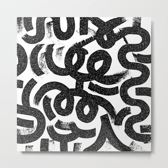 Big Strokes Metal Print