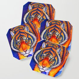 Chinese Zodiac Year of the Tiger Coaster