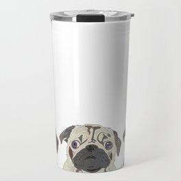 Triple Pugs Travel Mug