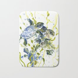 Baby Sea Turtles Bath Mat