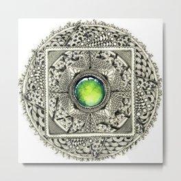 Guru Chakra Metal Print