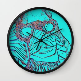 Spaceman Occupation Zero Wall Clock