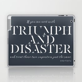 Triumph And Disaster Laptop & iPad Skin