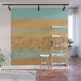 Harvest Landscape Wall Mural
