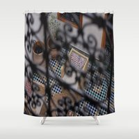 morocco Shower Curtains featuring Morocco #1 by lularound