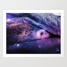 Hedgehog Sofi Art Print