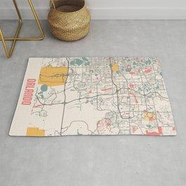 Orlando - United States Chalk City Map Rug