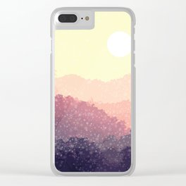 Santa is coming Clear iPhone Case