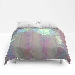 Iridescent Crystal Pattern Comforters