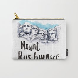 Mount Rushmore watercolor Carry-All Pouch