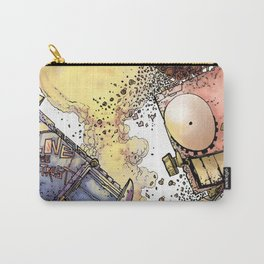 LOVE ME LIKE A PSYCHO ROBOT Carry-All Pouch