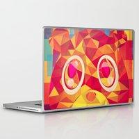 teddy bear Laptop & iPad Skins featuring TEDDY by Original Bliss