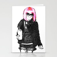 britney spears Stationery Cards featuring Britney Spears by KBK24