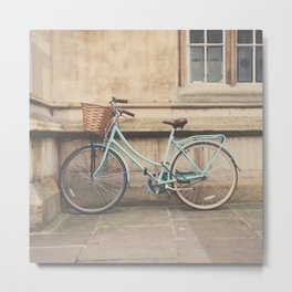 the bicycle ... Metal Print