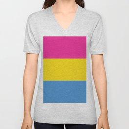 Pansexual Pride Unisex V-Neck