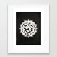 koala Framed Art Prints featuring Koala by Ronan Lynam