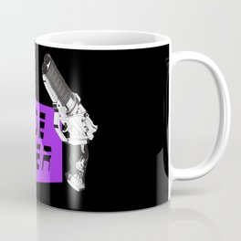 Time to die Version Neon Purple Coffee Mug