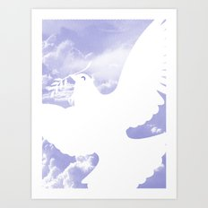 Peace All Over Art Print