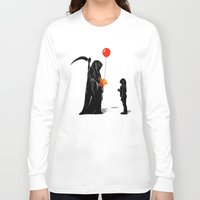 gift card Long Sleeve T-shirts featuring Gift by nicebleed