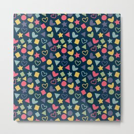 Colorful Lovely Pattern XI Metal Print