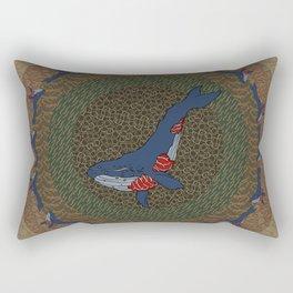 Whale Fall Rectangular Pillow