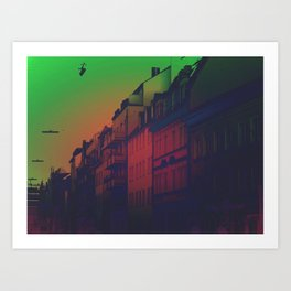 Thoughts from a Balcony Art Print