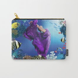 Amethyst Lady Carry-All Pouch