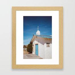 Desert Church II Framed Art Print