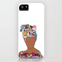 Woman of New Orleans - Galvez iPhone Case