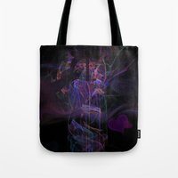 lovers Tote Bags featuring Lovers by Christy Leigh