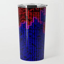 Bleeding Pixels Travel Mug