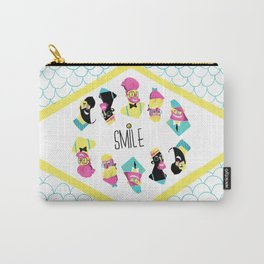 Hipster Smile Carry-All Pouch