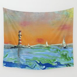Calm the Storm Wall Tapestry
