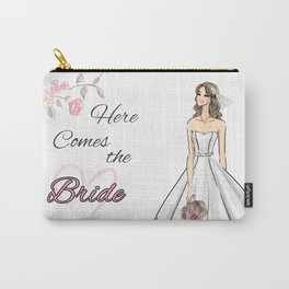 Here Comes The Bride Carry-All Pouch