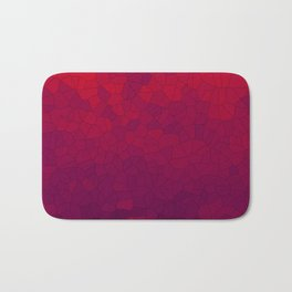 Mosaic Red Red Wine Bath Mat