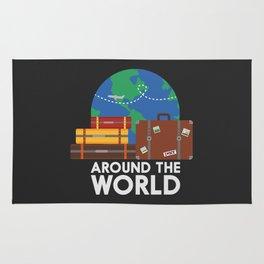 Around the world Rug