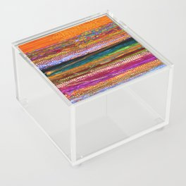 Indian Colors Acrylic Box