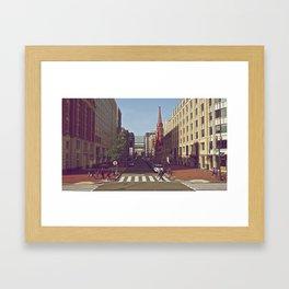 DC Framed Art Print
