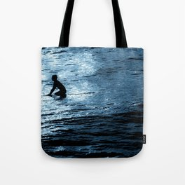 Surfing the Void Tote Bag