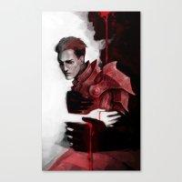 dragon age Canvas Prints featuring Dragon Age: Krem by Couple Of Kooks