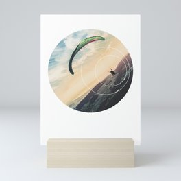 Skydive Gravity - Geometric Photography Mini Art Print