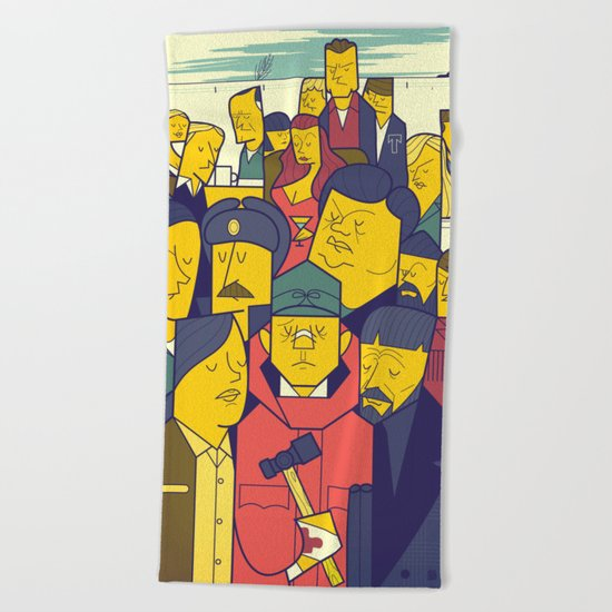 Fargo Beach Towel