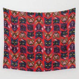 Bats! Cats! Rats! Wall Tapestry