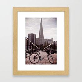 San Francisco Bike Framed Art Print