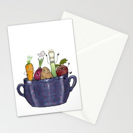 Vegetable Soup Stationery Cards