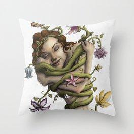 Embrace Your Nature Throw Pillow