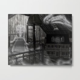 Toys in the Attic Haunted Metal Print