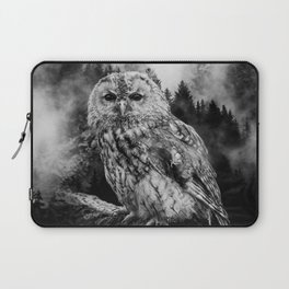 Owl & Forest Laptop Sleeve