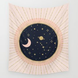 Love in Space Wall Tapestry
